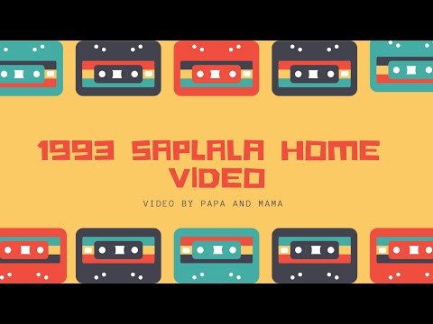 Saplala 1993 Home Video 💖