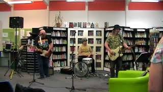 Dancing in the Street by Scarbelly Blues Band at Gt Bridge Library Open Mic 17.5.18