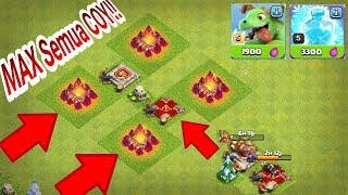 Sory Army Camp Ku MAX SEMUA COY!! SEMANGAT FARMING TH 11, STRATEGI BABY DRAGON CLASH OF CLANS