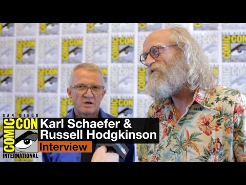 San Diego ComicCon 2015: Karl Schaefer and Russell Hodgkinson talk ZWeed