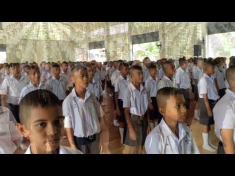 พิธีถวายความอาลัย พระบาทสมเด็จพระปรมินทรมหาภูมิพลอดุลยเดช โรงเรียนสามัคคีศึกษา สพม.13