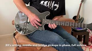 Demo of the 'Treble Booster Classic' by Brian May Guitars/KAT