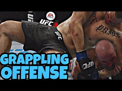 Grappling Offense In Ranked Ea Ufc 3 Online Youtube