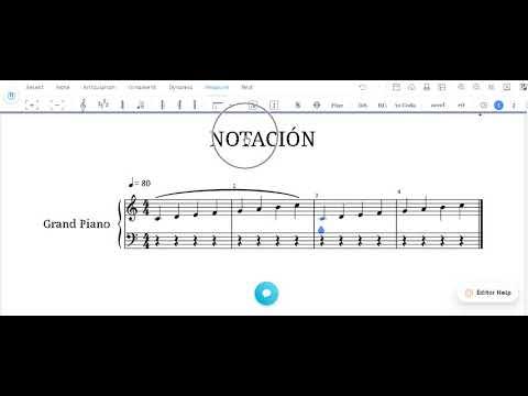 Notación musical - La ligadura de fraseo