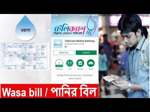 wasa bill payment online using Telecash