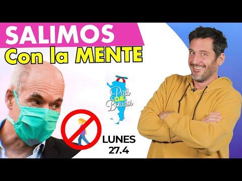 SALIMOS con la MENTE ❌🚶♀ | PDB de Tardecita | Lunes 27-04-20
