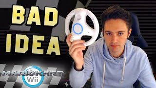 10-Year Mario Kart Wii Veteran Uses Wii Wheel