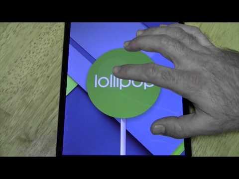 Android 5 Lollipop Hidden Game (Easter Egg)