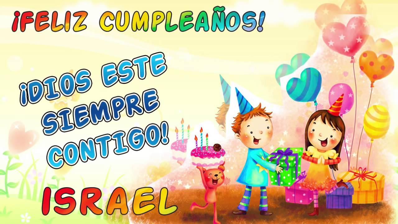 u00a1Feliz Cumpleaños& Kristal Israel! YouTube