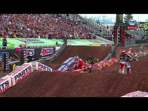 2013 AMA Supercross Rd16 Salt Lake City HD Parte1.Mp4