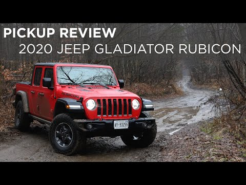 2020 Jeep Gladiator Rubicon Pickup Review Driving Ca Youtube