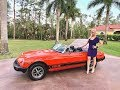 CLASSIC 1978 MG MGB SOLD by: AutoHaus of Naples! Review w/MaryAnn & Camera Man!