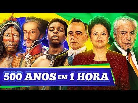 500 Anos em 1 Hora / História do Brasil