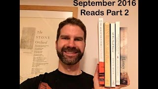 Reading Wrap Up / September 2016 Part 2