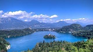 видео Словения. Озеро Блед / Blejsko jezero, Slovenija / Lake Bled, Slovenia