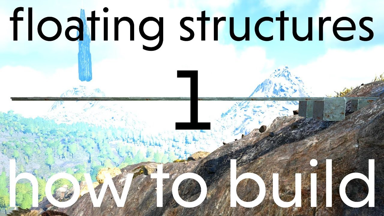 how to build floating structures 1 | how-to & building tips | Ark: Survival  Evolved 112