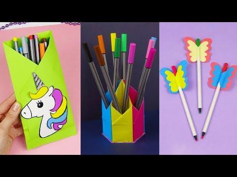 Smotrite Segodnya 7 Diy School Supplies Easy Diy Paper