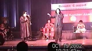 Bappi Lahiri & Rema Lahiri New York October 20, 2002
