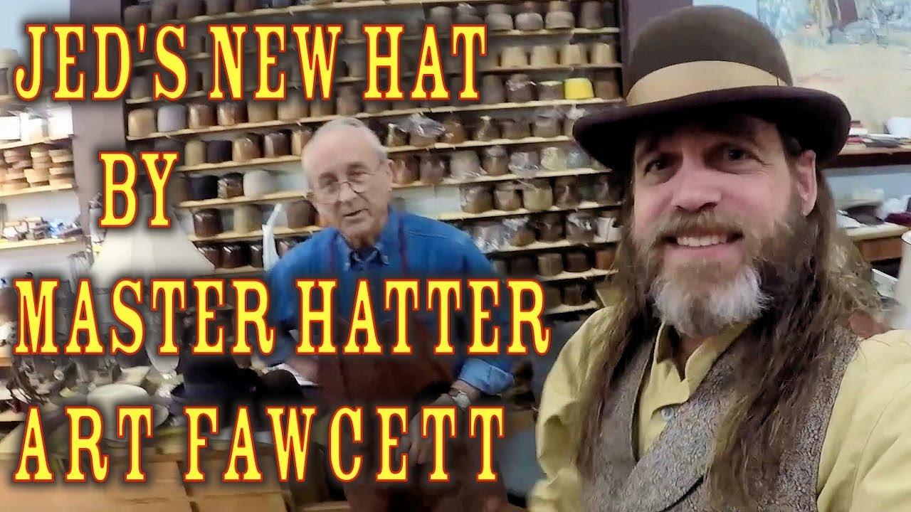 REVIEW  Custom Bowler   Derby Hat by Art Fawcett - YouTube d3707be5599e