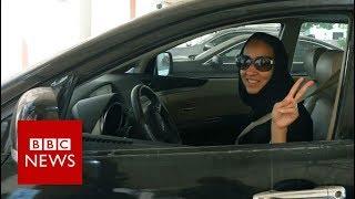 Saudi women rejoice at end of driving ban - BBC News