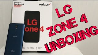 LG Zone 4 Unboxing & First Look (Verizon)
