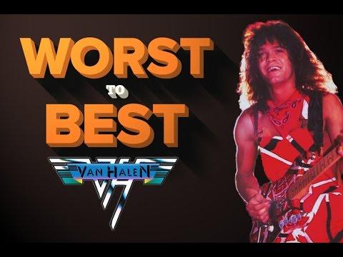 Van Halen Albums - Ranked Worst to Best