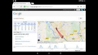Google Location History Free HD Video