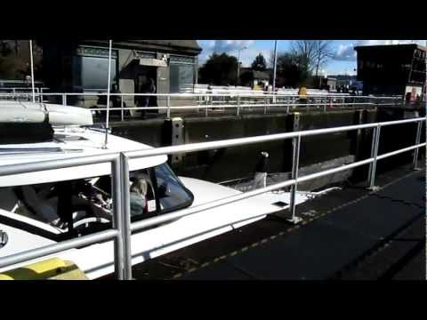 Ballard Locks in Seattle, WA