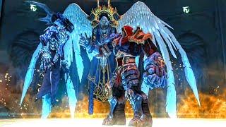 War Liberates Archangel of Death Azrael Imprisoned in the Black Throne (Darksiders 1)