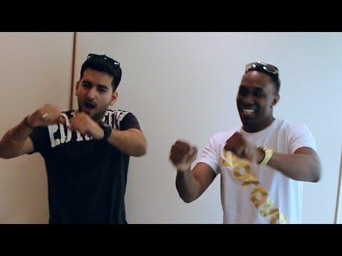 DJ Bravo & Abhimanyu dance to Run D World