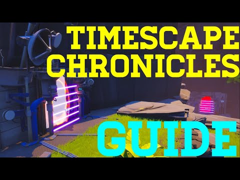 How To Complete Timescape Chronicles By Wertandrew(Full Guide) - Fortnite Creative Guide