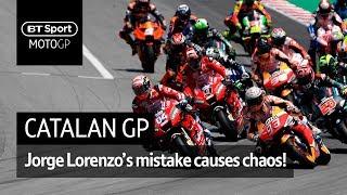 MotoGP Highlights: Catalunya (2019) | Jorge Lorenzo causes chaos!
