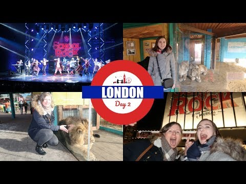 London Day 2: School of Rock Musical & London Zoo!