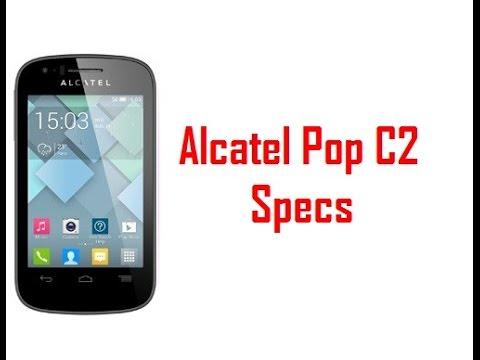 Alcatel Pop C2 Specs & Features