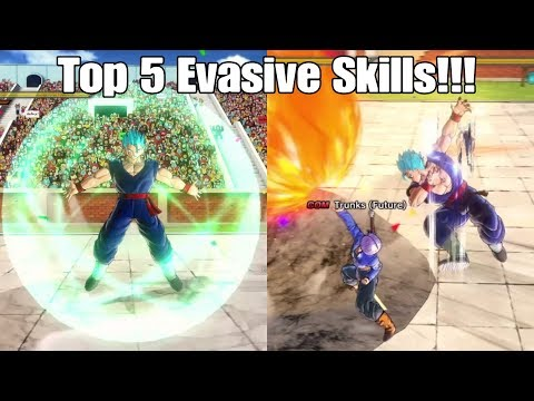 Dragon ball Xenoverse 2 My Top 5 Evasive Skills in the Game!