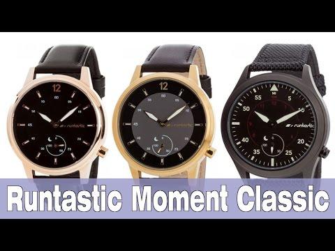 Runtastic Moment Classic: обзор умных часов с физическими стрелками