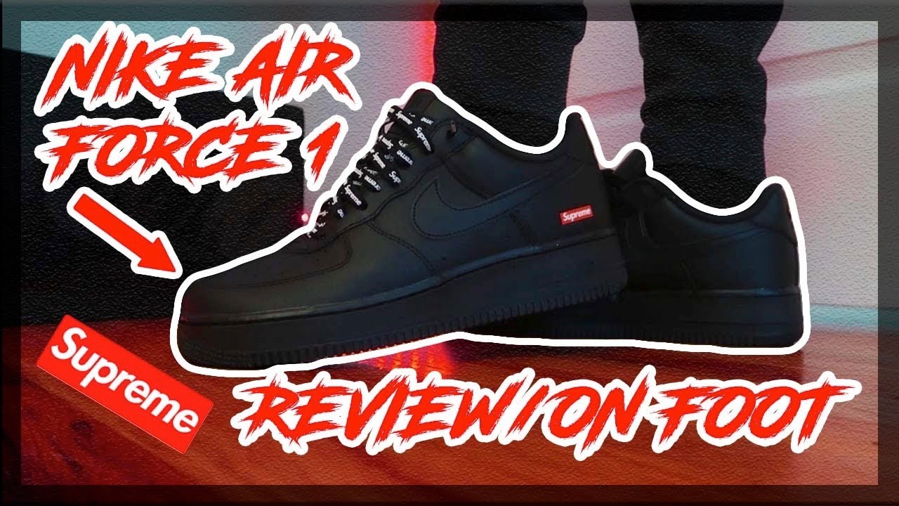 WEARING BLACK AIR FORCE 1'S FOR A WEEK????????| Air Force 1 Outfit ...