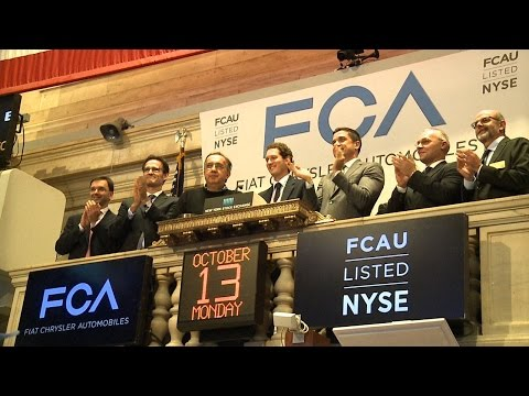 Fiat Chrysler Automobiles NYSE Closing Bell and Photo Op
