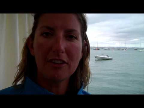 Dee Caffari At the 2010 Artemis Challenge at Cowes Week