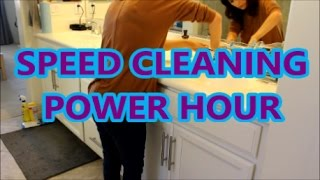 SPEED CLEANING | COME CLEAN WITH ME | POWER HOUR