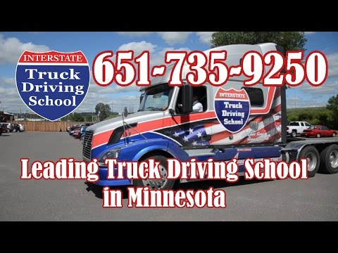 Tour a MN Truck Driving School 651-735-9250