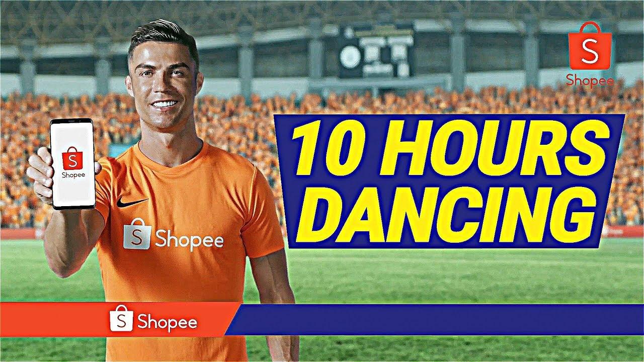 CRISTIANO RONALDO SHOPEE DANCE 10 HOURS PERFECT LOOP