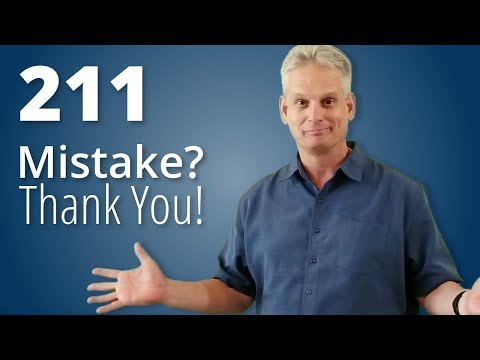 Mistake? Thanks! - Leadership Nudge 211 - With Andy Worshek ...