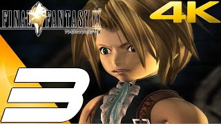 Final Fantasy IX HD - Gameplay Walkthrough Part 3 - Evil Forest [4K 60FPS]