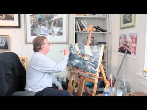 Russ Kramer Gallery Mystic CT  - Www.MysticShops.TV