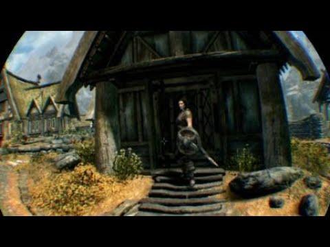 Skyrim VR,  Lydia is Dead  ...Noooooo...