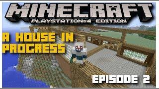 Minecraft Tac-Craft Survival Episode 2! A House In Progress!