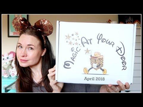 Magic at Your Door DISNEY Unboxing! | April 2018