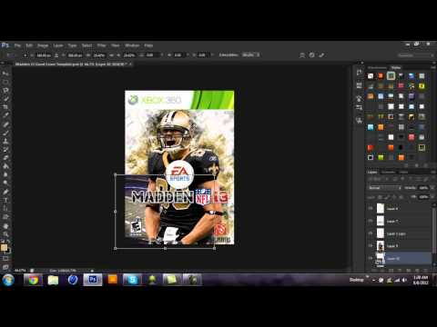 Custom Madden NFL 13 Cover - Speed Art | Jimmy Graham