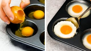 24 INCREDIBLE EGG COOKING TRICKS